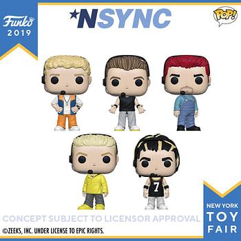 Funko New York Toy Fair Nsync