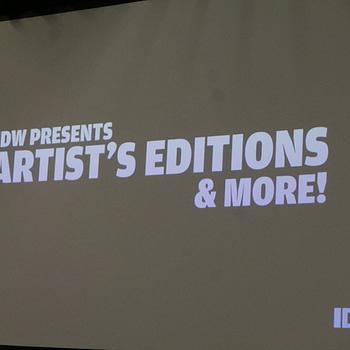 IDW Artist's Edition Wondercon Panel
