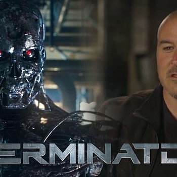 'Terminator: Dark Fate' Director Tim Miller Gets Choked Up on CinemaCon Stage