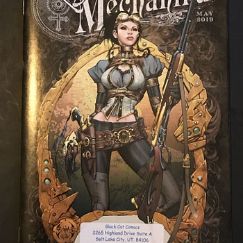 BC FCBD Roundup: Steampunk Intrigue with 'Lady Mechanika'