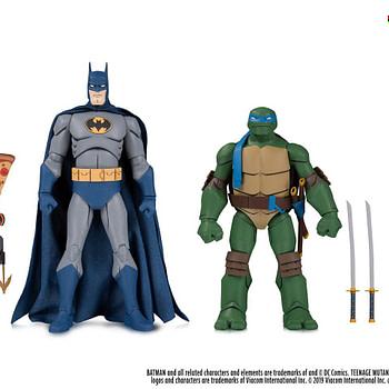 Batman Vs TMNT Figures Sets Coming Exclusively to Gamestop