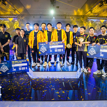 "TOP ESPORT Take ""PUBG Mobile"" Club Open Global Finals"