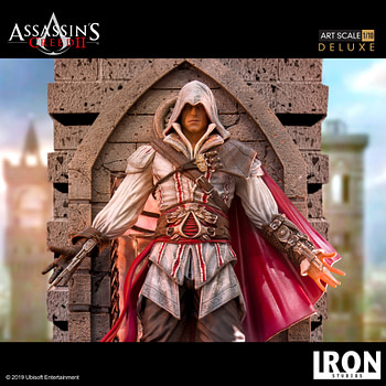 Ezio Takes His Leap of Faith with New Iron Studios Statue