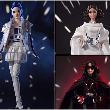 Barbie And Star Wars Team Up For New Figures