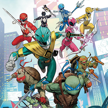 Mighty Morphin Power Rangers Vs Teenage Mutant Ninja Turtles in New Comcis Crossover For December