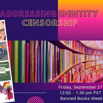 Free CBLDF Banned Books Week Webinar Announced Addressing Identity Censorship