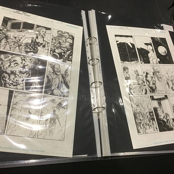 Gary Frank Has Finished the 47 Page Final Issue of Doomsday Clock #12 - All On Track For December 18th