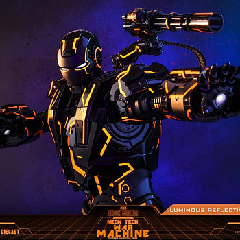 War Machine Enters The Grid in New Hot Toys Exclusive Figure