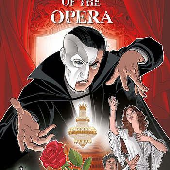 Andrew Lloyd Webber's Phantom Of The Opera, to be a Graphic Novel by Cavan Scott and José María Beroy