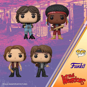 The Warriors Are Getting Funko Pops and We Dig It!