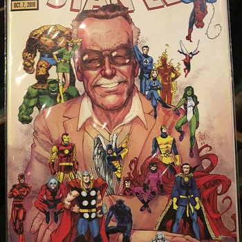 Take a Look at the Marvel Celebrates Stan Lee Comic Book (VIDEO)