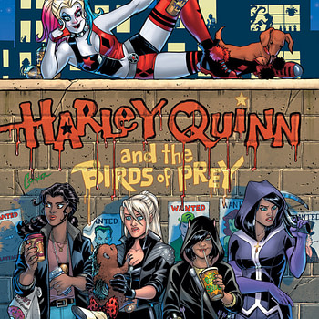 Amanda Conner and Jimmy Palmiotti Launch 4-Issue Harley Quinn and the Birds of Prey in February from DC Black Label