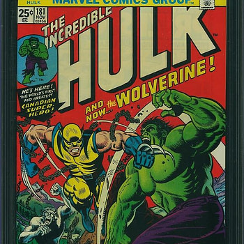 Want a Piece Of Wolverine? Otis Allows You to Partially Invest in a Copy of Incredible Hulk #181