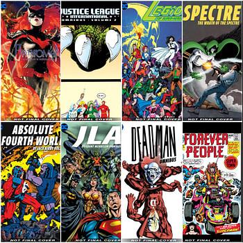 Nine New DC Comics Omnibuses For 2020