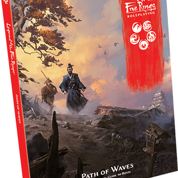 """""""Legend of the Five Rings"""" Gets """"Path of Waves"""" Expansion"""