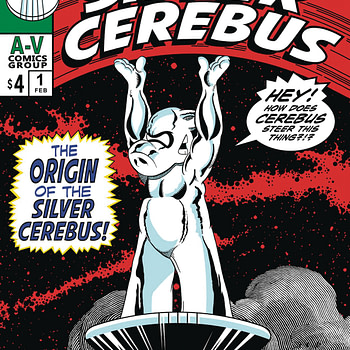 Dave Sim Mashes Up Silvr Surfer and Cerebus for Silver Cerebus