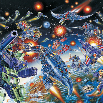 Transformers: A Visual History Book Review Thanks to Viz