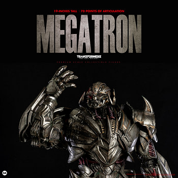 Megatron Wants Blood with New Threezero and Hasbro Figure