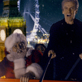 """Doctor Who"": BBC Releases Compilation of Past Christmas Specials Because There Isn't One This Year"