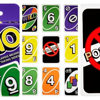 """Mattel Releases A """"Nonpartisan Uno"""" To Avoid Politics"""