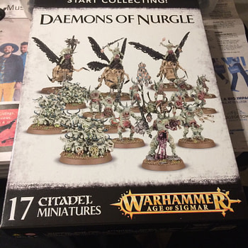 """Review - Games Workshop's """"Start Collecting! Daemons of Nurgle"""" Box"""