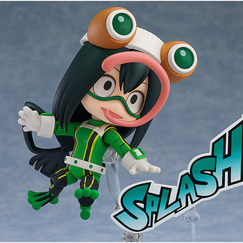My Hero Academia Froppy Leaps on in with Good Smile Company