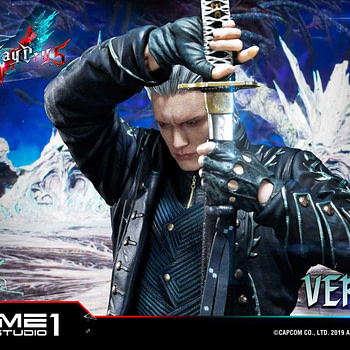 """Devil May Cry 5"" Vergil Gets New Statue From Prime 1 Studio"
