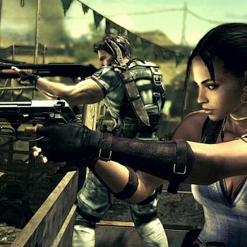 """""""Resident Evil 5"""" Looks a Lot Different with This Interesting Mod"""