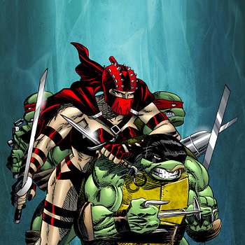 Gary Carlson and Frank Fosco to Conclude TMNT Story Unfinished for Twenty Years