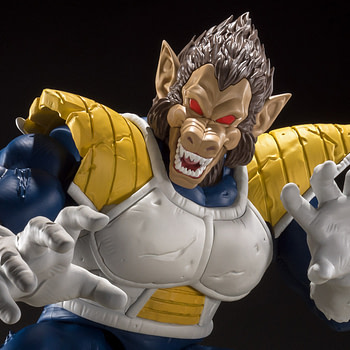 "Vegeta Goes Ape with New ""Dragonball Z"" S.H. Figuarts Figure"