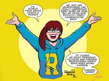 scarlet archie comics Autism Awareness Day