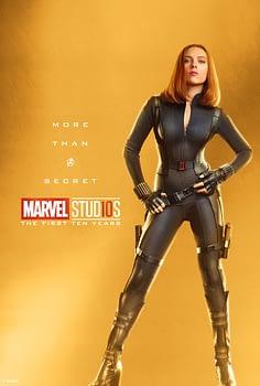 Marvel Studios More Than A Hero Poster Series Black Widow