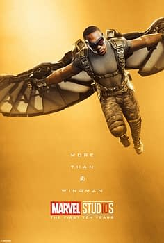 Marvel Studios More Than A Hero Poster Series Falcon