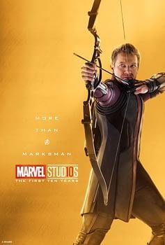 Marvel Studios More Than A Hero Poster Series Hawkman