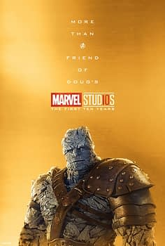 Marvel Studios More Than A Hero Poster Series Korg
