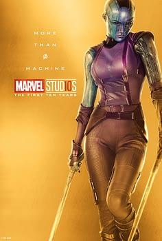 Marvel Studios More Than A Hero Poster Series Nebula