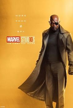 Marvel Studios More Than A Hero Poster Series Nick Fury