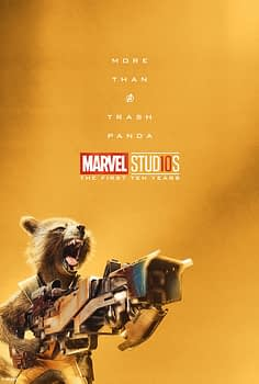 Marvel Studios More Than A Hero Poster Series Rocket