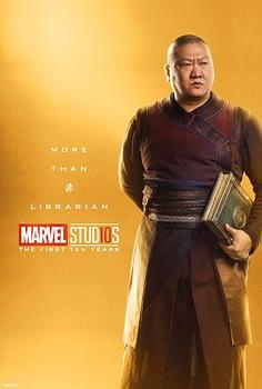 Marvel Studios More Than A Hero Poster Series Wong