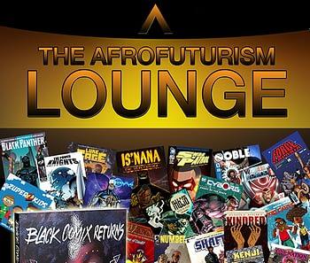 afrofuturism lounge logo