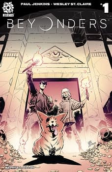 Beyonders #1 cover by Wesley St. Claire