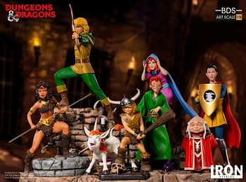 Dungeons and Dragons Cartoon Statues