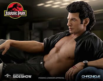 Jurassic Park Sexy Jeff Goldblum Statue Chronicle 1