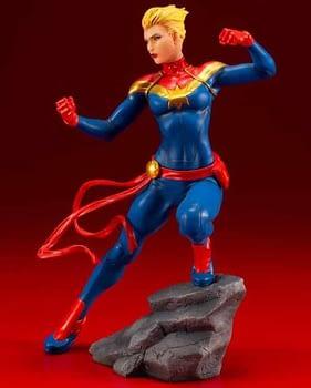 Captain Marvel Kotobukiya Statue 4