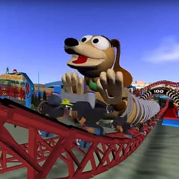Slinky Dog Roller Coaster