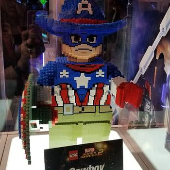 LEGO Marvel Super Heroes Cowboy Cap D23