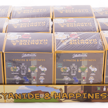 SDCC Cyanide and Happiness Figures Boxes