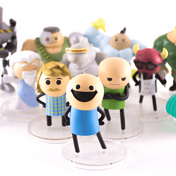 SDCC Cyanide and Happiness Figures 2