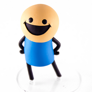 Blue Shirt Guy SDCC Cyanide and Happiness Figures