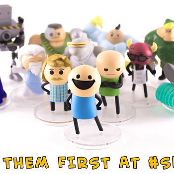 SDCC Cyanide and Happiness Figures